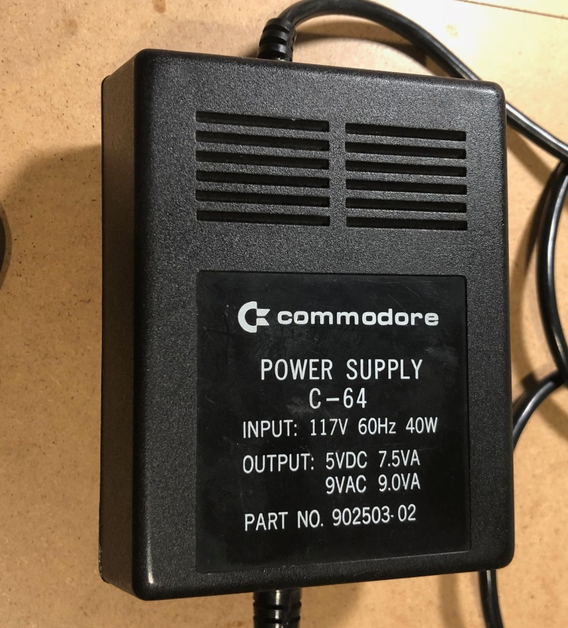 Commodore 64 Power Supply 902503-02, part 1.